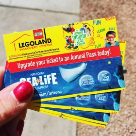 Giveaway for LEGOLAND Discovery Center Arizona
