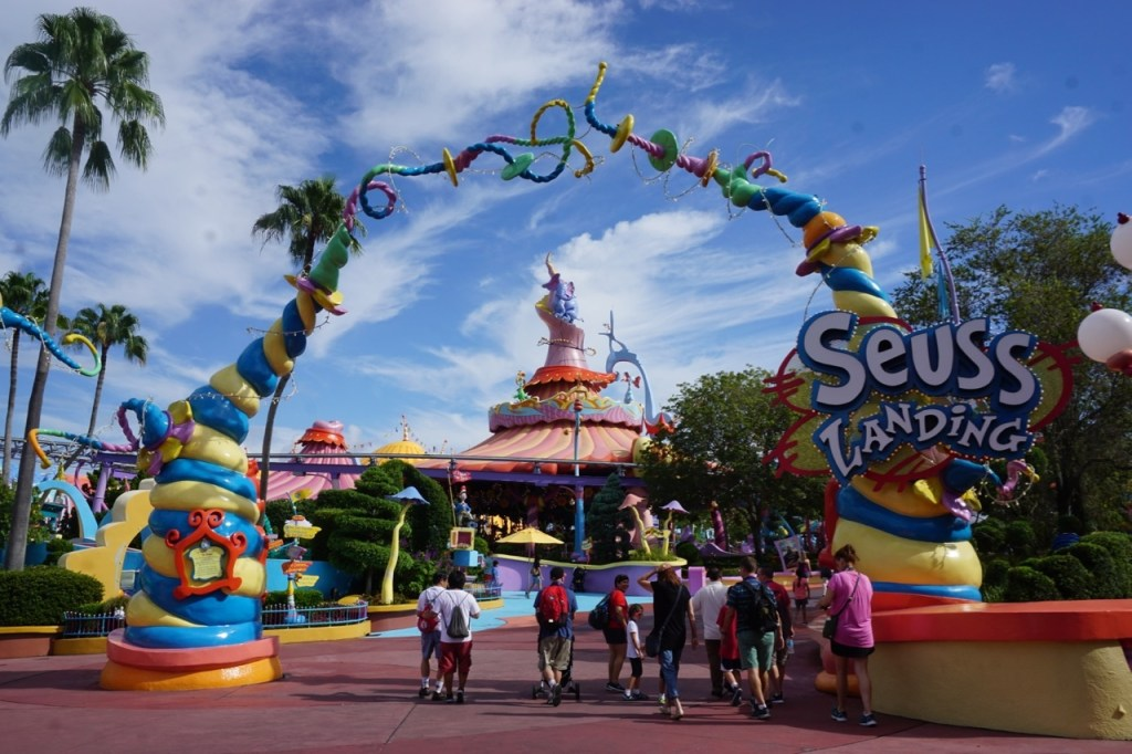 Does your child like Dr. Seuss? If not, there's a strong likelihood that he/she will be a fan after a visit to Seuss Landing at Islands of Adventure!