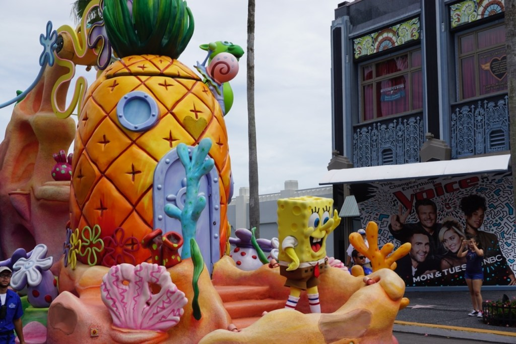 """Who lives in a pineapple under the sea? Spongebob Squarepants!"""