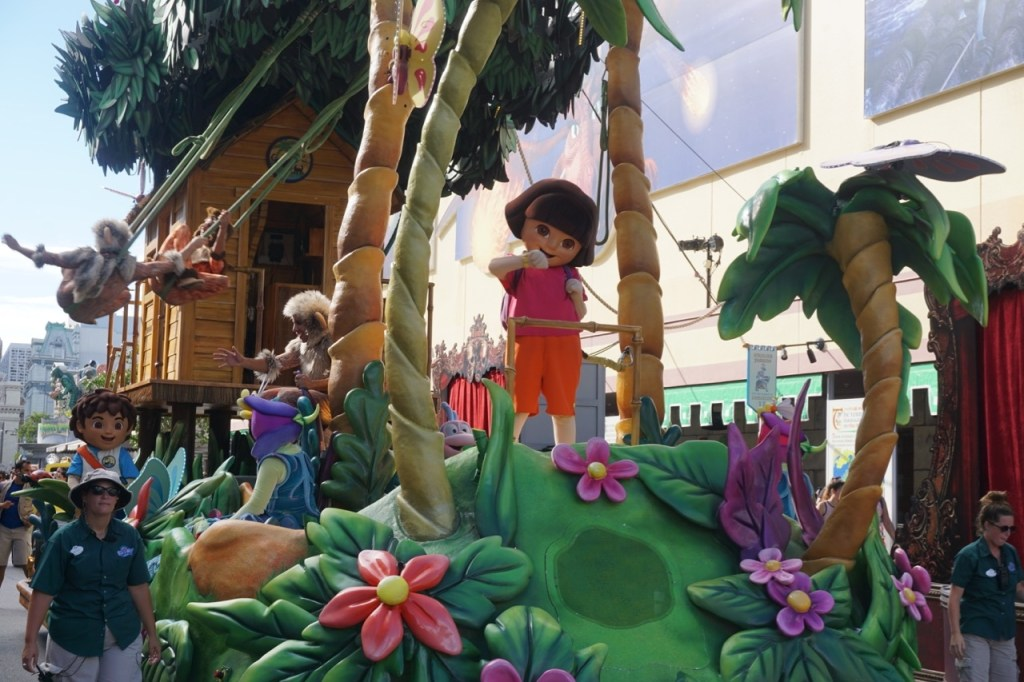 Nickelodeon characters, like Dora and Diego, appeal to younger children, including children that are preschool aged.