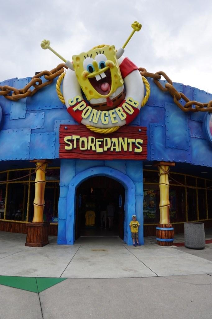 dsc00341My son's wish? Meet SpongeBob!