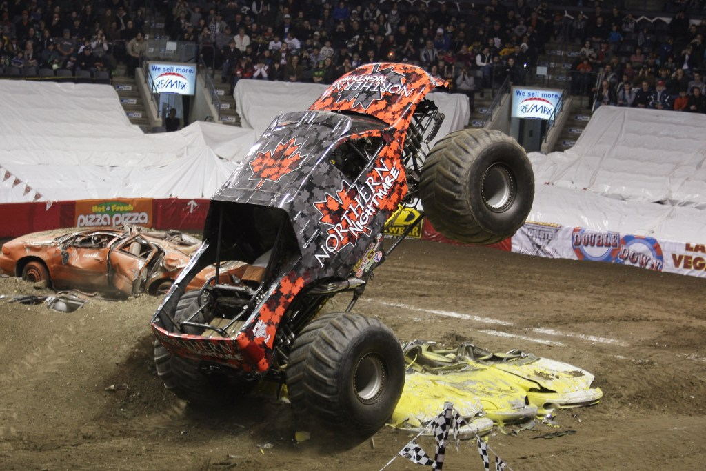 Northern Nightmare, part of the MONSTER JAM event coming to Phoenix, Arizona.