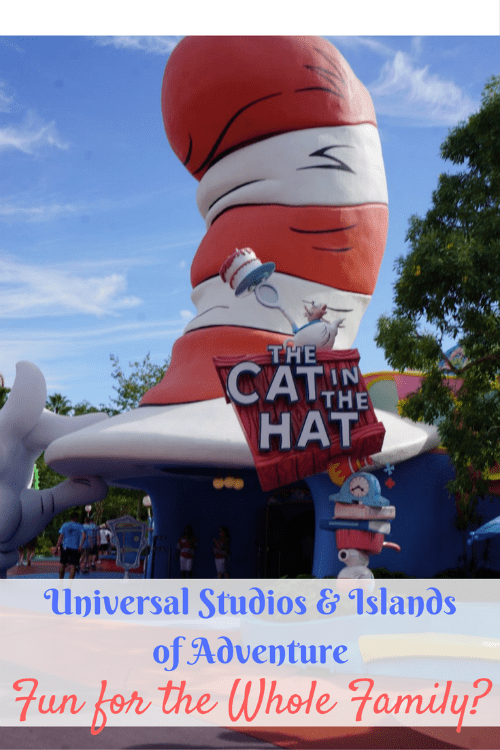 Universal Studios Florida & Islands of Adventure: Fun for the Whole Family?