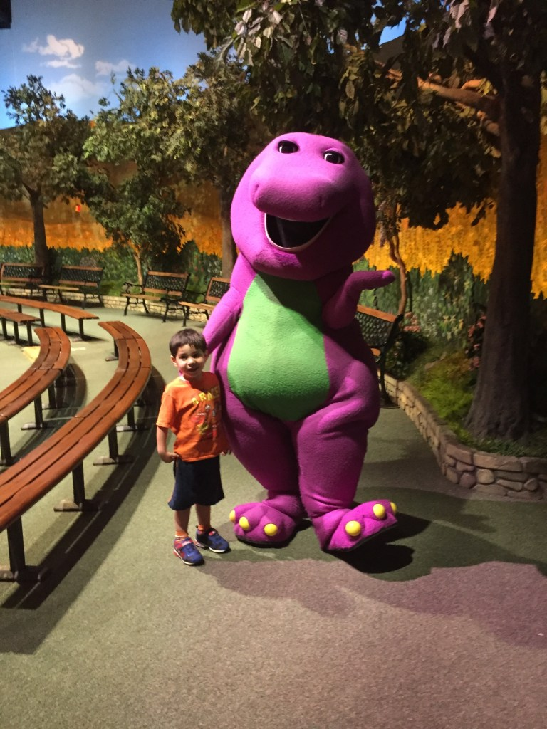 A Day in the Park with Barney is another reason why Universal Studios Florida is fun for the whole family.