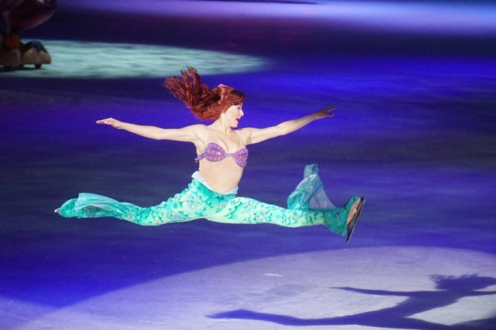 And then it was Ariel's turn!
