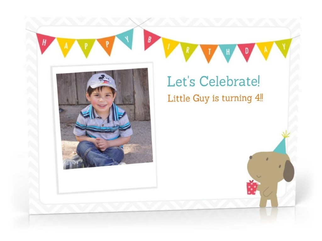 I enjoyed using my new HP Printer as well as the HP Software to create my son's birthday party invitation.