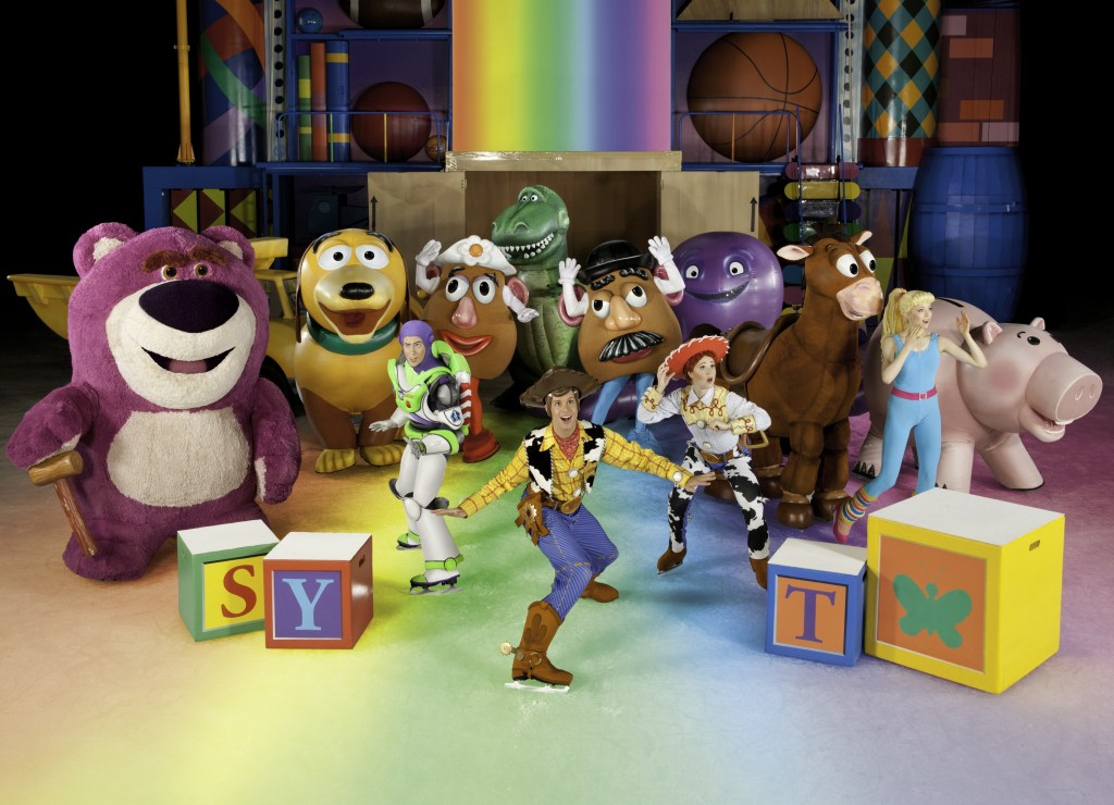 A giveaway for Disney on Ice!