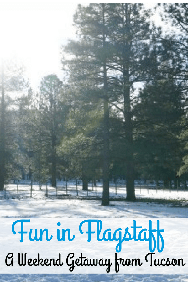 Looking for winter weekend getaway from Tucson or Phoenix? There's plenty of fun in Flagstaff, Arizona.