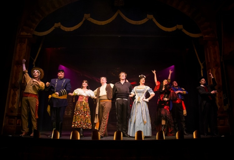 The cast of The Two Amigos. Photo Provided by The Gaslight Theatre.