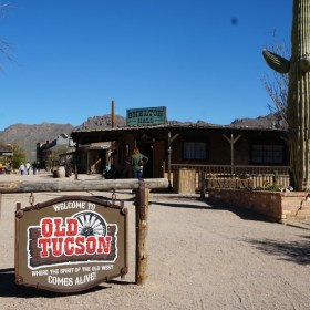 A Giveaway for Tickets to Old Tucson Studios!