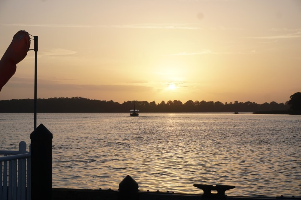 This is the sunrise that greeted us when we arrived at the Marina. It was a perfect morning to fish.