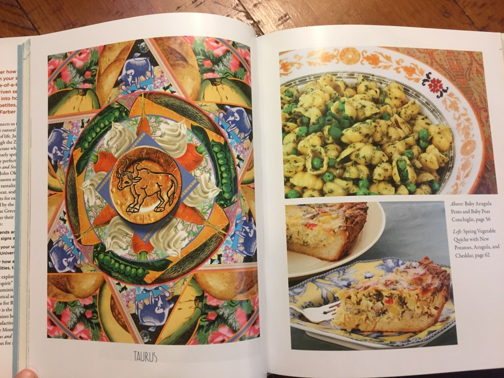 Signs and Seasons includes a wide variety of recipes depending on astrological signs.