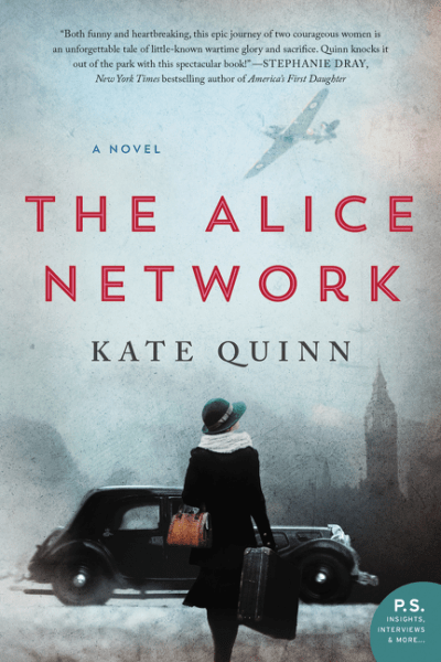 Book Review for The Alice Network (and a Giveaway!)
