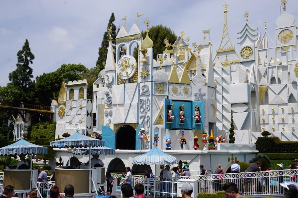 It's a Small World is a better experience at Disneyland.