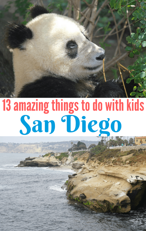 Are you planning a family vacation to Southern California and San Diego? From a theme park, to the beach, to museums, and zoos, here are 13 amazing things to do in San Diego with kids.