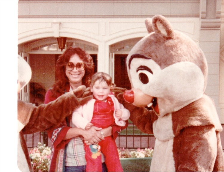 My love for Disneyland, and large sunglasses, began at a young age thanks to my mom.