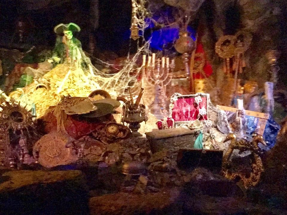 Pirates of the Caribbean is a family favorite ride at Disneyland. Photo by Caroline Knowles.