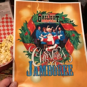 Holiday Cheer at the Gaslight Music Hall's Christmas Jamboree (Giveaway)