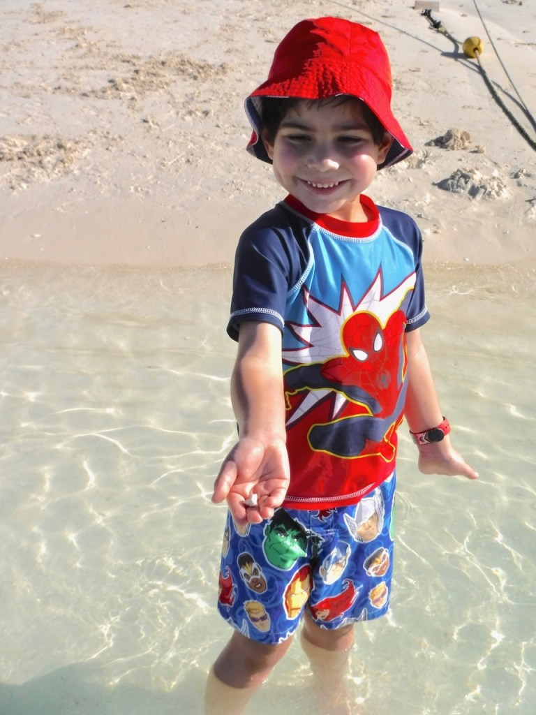 My son loves the beach at Castaway Cay, Disney's Private Island.
