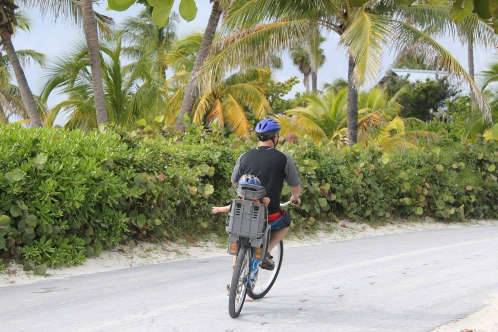 Castaway Cay, Disney's private island, has other activities available, like bike riding.
