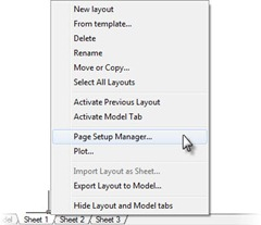 PageSetupManager