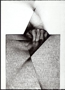 Inesperada in Graphite, 1999 by Auslender
