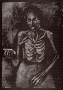 Stephen Koharian, Armenian Genocide 3, Oil, 6'x4'