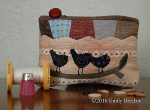 Three Little Birds pouch