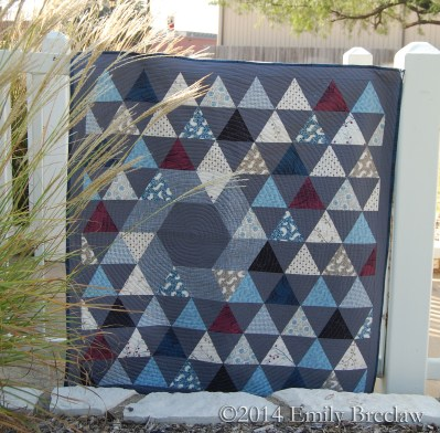 Legacy baby quilt pattern by Emily Breclaw