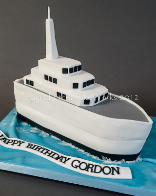 ship wedding cake ship shape birthday cake thecakeworks darlington 19781