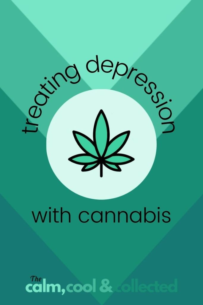 Treating Depression with Cannabis pin 2
