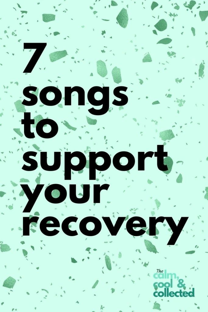 7 Songs About Addiction for Recovery Inspo hero pin 2