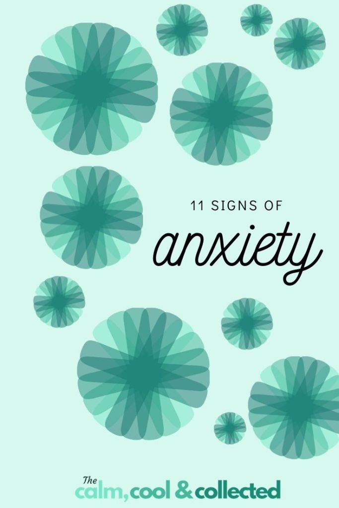 11 Symptoms of Anxiety pin 2