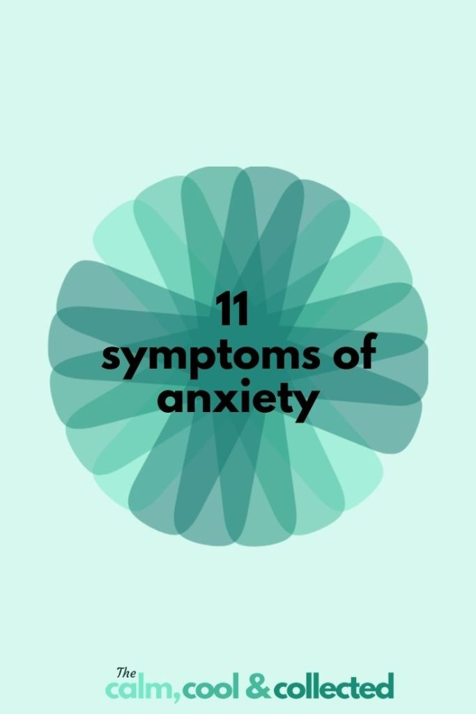 11 Symptoms of Anxiety pin 3
