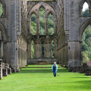 Beautiful Rievaulx Abbey