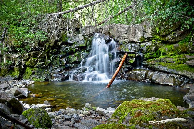 Waterfall at Fernie BC