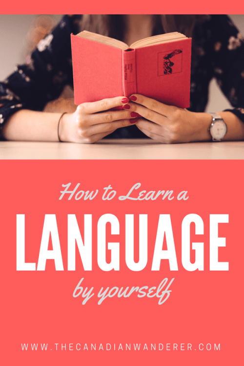 How to Learn a Language By Yourself in 3 easy steps! Live Abroad | Study Abroad | Work Abroad | Teach English | Learn English | Language Learning | Linguistic