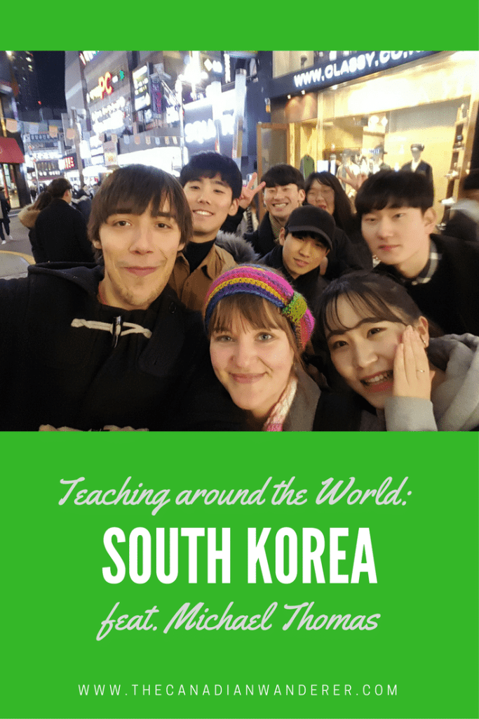 English Teachers Around the World - Michael Thomas | Work Abroad, Study Abroad, Live Abroad in South Korea | Teaching English