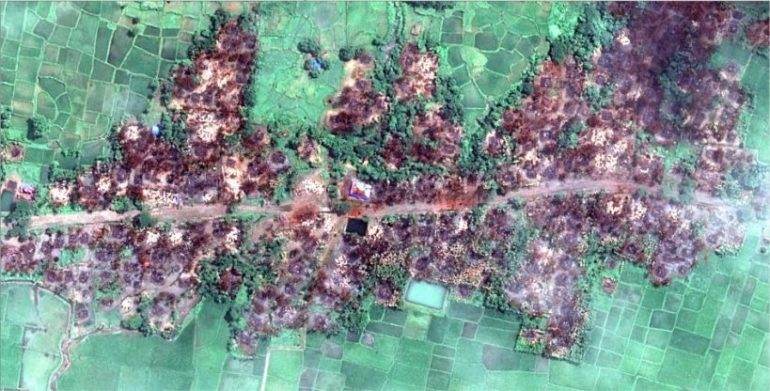 Genocide leaves Rohingya villages destroyed