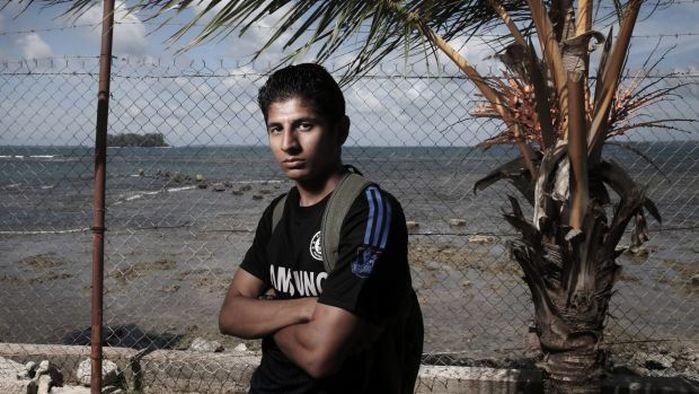 Refugee Loghman Sawari
