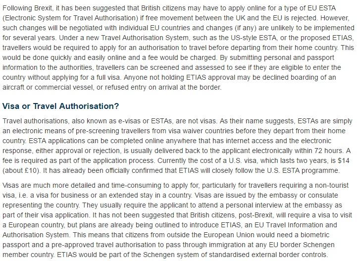 EU Visas