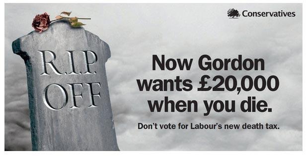 Theresa May Tories Death Tax