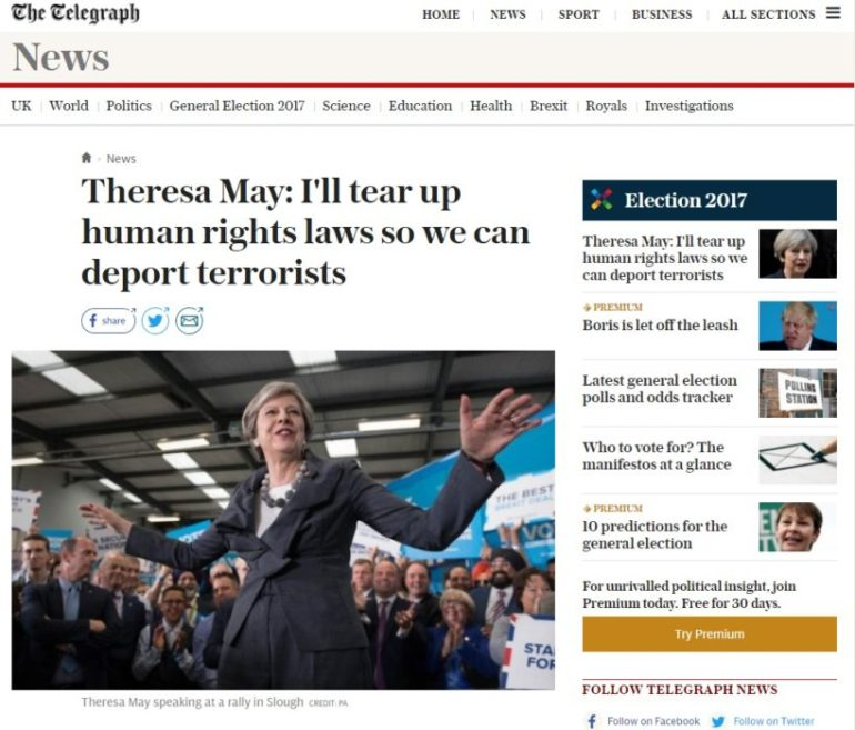 Telegraph May Slough