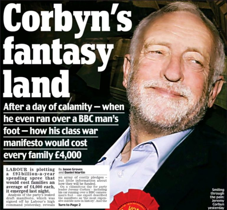 Daily Mail Corbyn