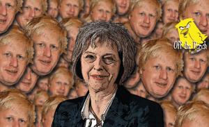 Theresa May Boris Johnson OTP