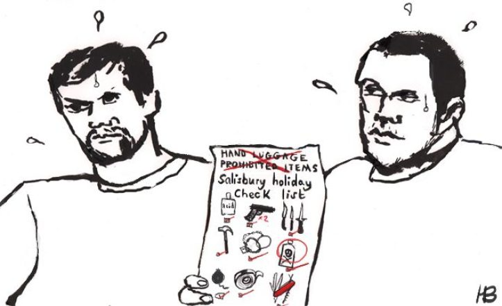Newly discovered document proves Salisbury Two were definitely on holiday [CARTOON]