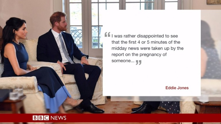 Criticism from a BBC viewer