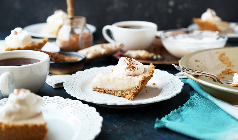 Chai Latte Cream Pie