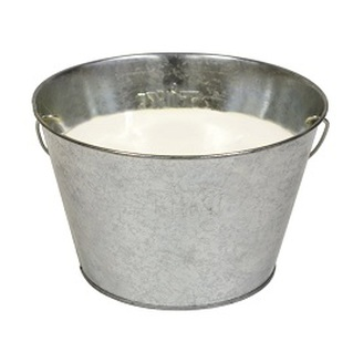 3 wick large bucket citronella candle