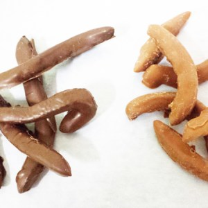 Chocolate Dipped Orange Peels